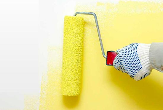 a importância da pintura no acabamento de uma obra