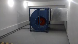 casa de pressurização