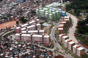 edifícios populares